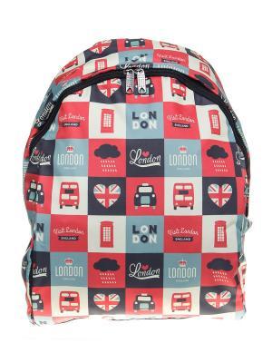 Рюкзак ПодЪполье. Цвет: красный, белый, черный, серый