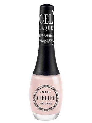 Гель-лак для ногтейNail Atelier тон 113, 12мл Vivienne Sabo. Цвет: бледно-розовый