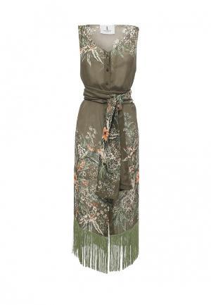 Платье Lolita Shonidi. Цвет: хаки