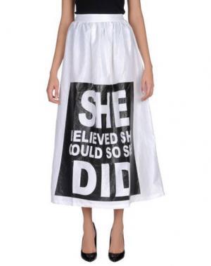 Длинная юбка ODI ET AMO. Цвет: белый