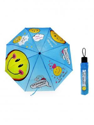 Зонт Bizon. Цвет: голубой
