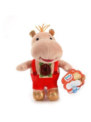 Мягкая игрушка мульти-пульти тима и тома. 20см. Цвет: бежевый, красный