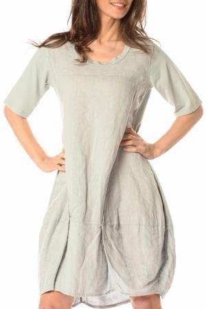 Платье LA BELLE PARISIENNE. Цвет: серый