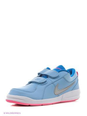 Кроссовки PICO 4 (PSV) Nike. Цвет: голубой, серебристый, розовый, белый