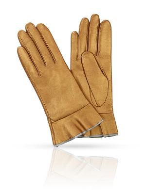 Перчатки MICHEL KATANA`. Цвет: бронзовый