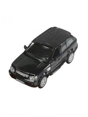 Машинка Инерционная Land Rover Range Sport, Черная (1:32) (PS-554007-BL) Pit Stop. Цвет: черный