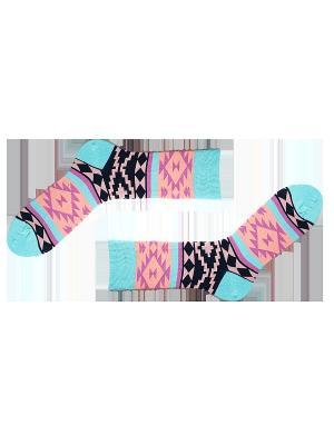 Носки Sammy Icon. Цвет: голубой, розовый, черный