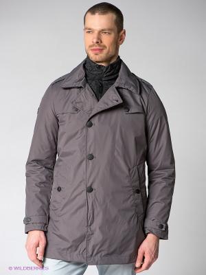 Куртка Marville. Цвет: серый