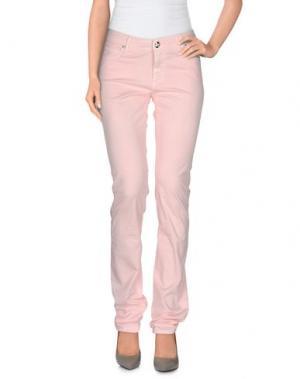 Повседневные брюки ROŸ ROGER'S CHOICE. Цвет: светло-розовый