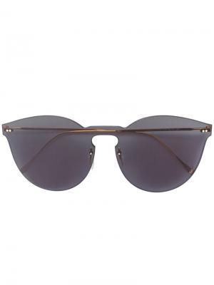 Солнцезащитные очки Leonard Mask Illesteva. Цвет: серый