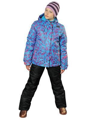 Комплект одежды Fobs. Цвет: голубой, розовый