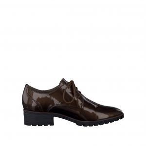 Ботинки-дерби  23304-27 TAMARIS. Цвет: темный каштан