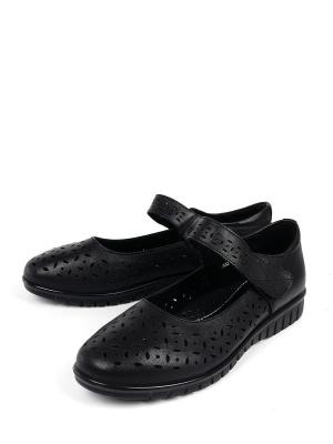 Туфли BERTEN. Цвет: черный