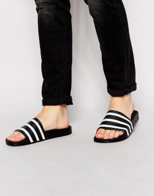 Adidas Originals Шлепанцы Adilette 280647. Цвет: черный