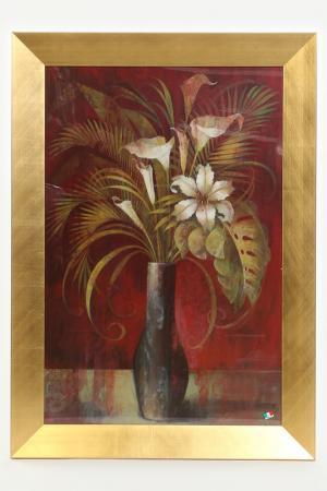Постер Цветы в вазе F.A.L. Цвет: мультиколор