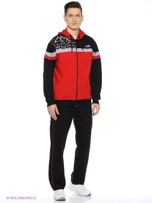 Спортивный костюм Diamond. Цвет: черный, красный