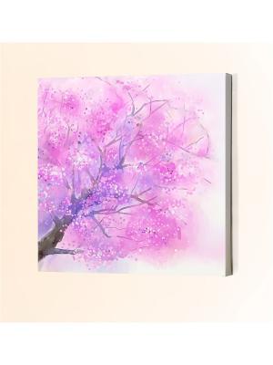Картина Chernilla. Цвет: розовый