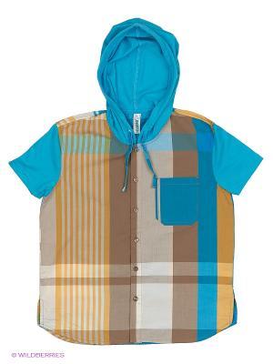Рубашка ВЕНЕЙЯ. Цвет: бирюзовый
