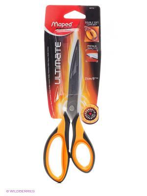 Ножницы, 21 см Maped. Цвет: оранжевый