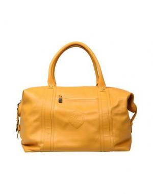 Дорожная сумка BILLIONAIRE. Цвет: желтый
