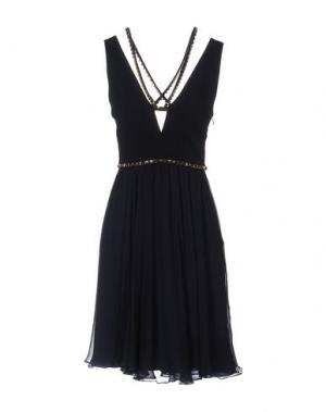 Короткое платье JENNY PACKHAM. Цвет: темно-синий