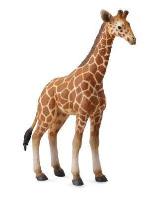 Жеребенок Сетчатого Жирафа, L Collecta. Цвет: светло-коричневый