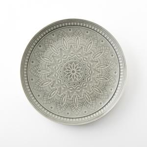 Комплект из 4 мелких тарелок керамики Nicolosi AM.PM.. Цвет: бирюзовый,серый