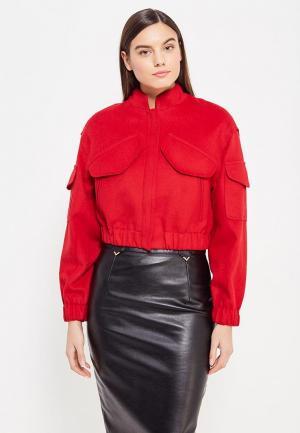 Куртка Asya Malbershtein. Цвет: красный