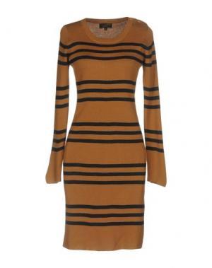Короткое платье LE MONT ST MICHEL. Цвет: верблюжий