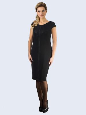 Платье Amelia Lux. Цвет: черный