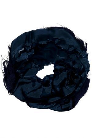 Шарф Elie Saab. Цвет: blue, dark blue