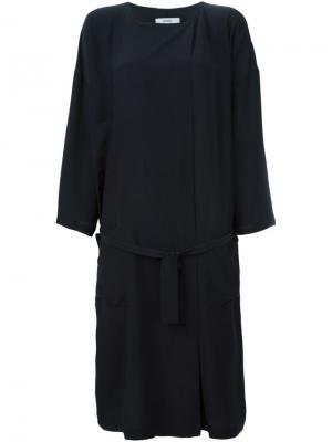 Платье Soly Humanoid. Цвет: чёрный