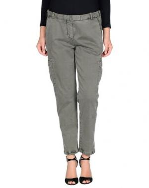 Повседневные брюки QCQC. Цвет: зеленый-милитари
