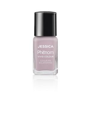 Phenom Цветное покрытие Vivid Colour Pretty in Pearls № 02, 15 мл JESSICA. Цвет: сиреневый