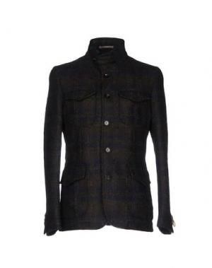 Куртка PAOLONI. Цвет: темно-коричневый
