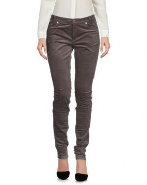 Повседневные брюки BOY by BAND OF OUTSIDERS. Цвет: свинцово-серый