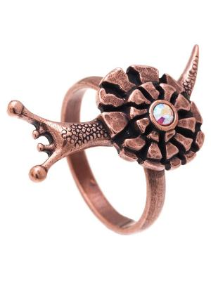 Кольцо Jenavi. Цвет: темно-серый, бронзовый