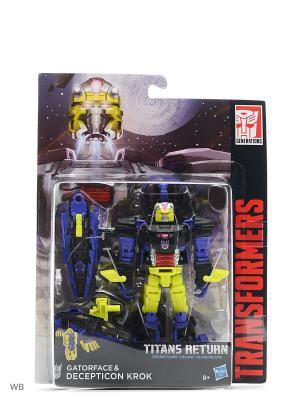 Трансформеры дженерэйшнс: войны титанов дэлюкс Transformers. Цвет: синий, салатовый