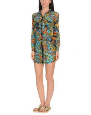 Пляжное платье MISS BIKINI. Цвет: лазурный