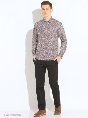 Рубашка MERC. Цвет: белый
