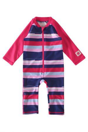 Купальный костюм Reima. Цвет: красный