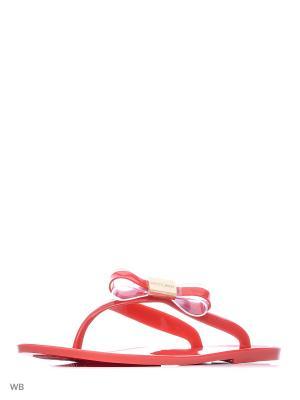 Пантолеты Mon Ami. Цвет: красный