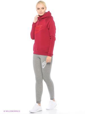 Тайтсы W NSW RALLY PANT TIGHT GX Nike. Цвет: белый, серебристый
