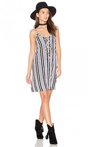 Платье laila Bishop + Young. Цвет: black & white