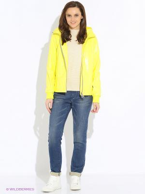 Куртка GEOX. Цвет: светло-желтый