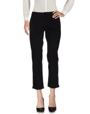 Повседневные брюки HUDSON. Цвет: черный