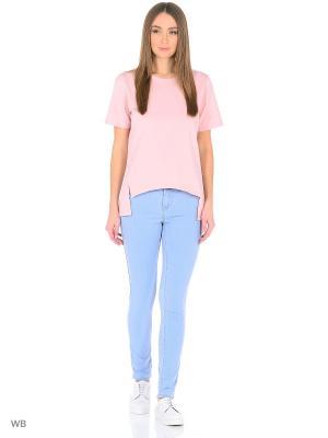 Женские джинсы Imajeans. Цвет: светло-голубой