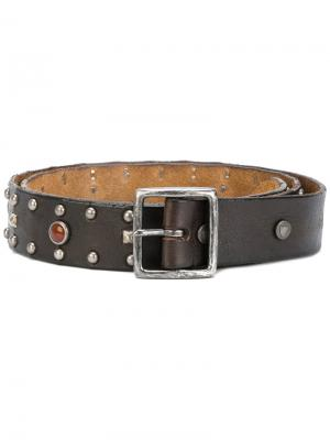Embellished buckle belt Htc Hollywood Trading Company. Цвет: чёрный