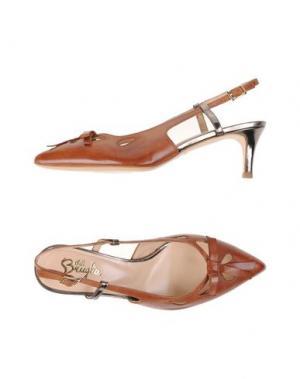 Туфли F.LLI BRUGLIA. Цвет: коричневый