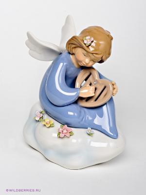 Фигурка Ангелочек Pavone. Цвет: голубой